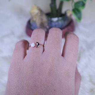 14 Karat Rose Gold Ring with Opal
