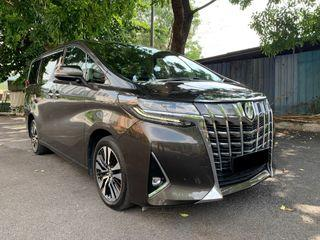 2018 Toyota Alphard 3.5 V6 FACELIFT