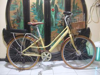 鋁合金26吋giant捷安特 iNeed HEBE  shimano 7段變速腳踏車附車鎖桃園自取