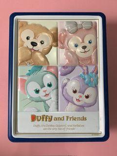 日本迪士尼帶回 達菲鐵盒