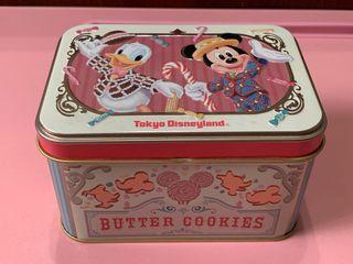 日本迪士尼帶回 米奇鐵盒