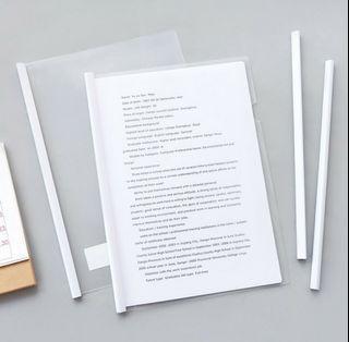 可換物/ 透明資料夾 A4夾 報告夾 履歷夾 簡歷夾