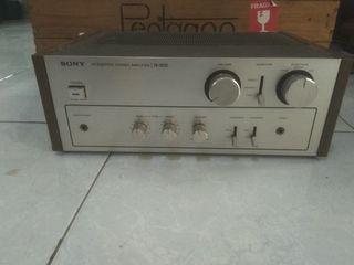 Amplifier sony ta 1630