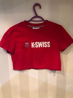 Brand new size small crop top k swiss