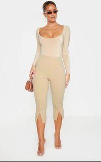 Brand new size small nude pants