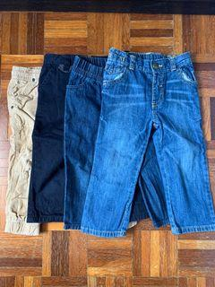 Bundle of 4 pants - 18 to 24 months