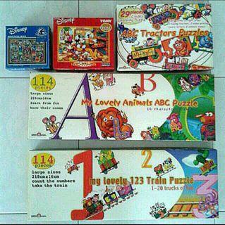 Children's Jigsaw Puzzles ($8/$16)