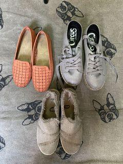 CLEARANCE Sale 3 shoes for 1k