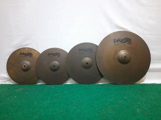 Cymbal set paiste 101