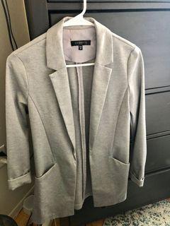 Dynamite Grey Cotton Blazer - XS