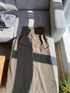 Forever 21/ Olive green long shirt/ Small/ Used/ $5
