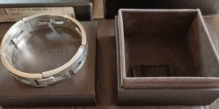 Gucci 925純銀手環