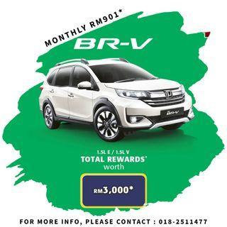 HONDA BR-V 0% SALES TAX
