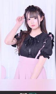 MA*RS 黑色水手領上衣 #量產型 #地雷系 #日系