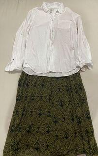 Mix&match blouse skirt