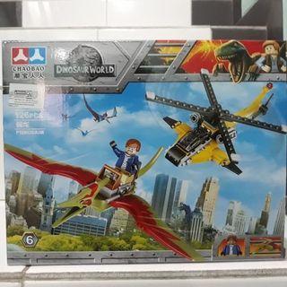 New Lego dinosaurus block
