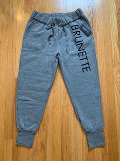 NWT BRUNETTE the label Sweatpants Sz xs/s