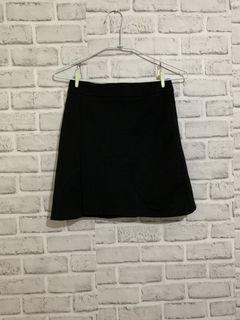 OL黑色A字裙