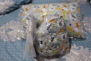 Paket Bantal Guling Junior / Anak Restking Motif MJ002 (NEW)