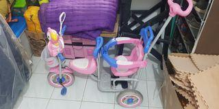 """Sepeda Family anak double chair """"RARE"""""""