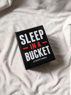 SLEEP IN A BUCKET PARTY CARD GAME