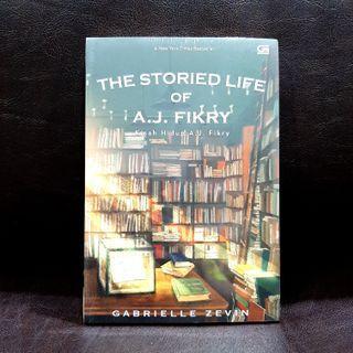 ( ORI NEW ) The Storied Life of A.J. Fikry - Gabrielle Zevin - buku original baru segel plastik - novel terjemahan Indonesia fiksi