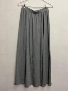 【UNIQLO 】長裙 M (Gray)