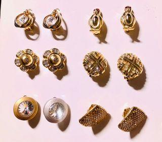 Vintage 夾式耳環