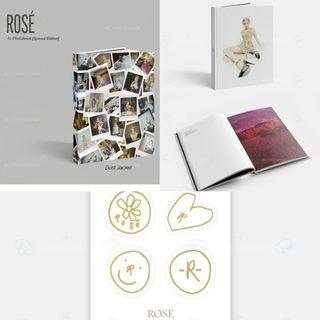 WTS LOOSE ITEMS ROSÉ -R- PHOTOBOOK SPECIAL EDITION