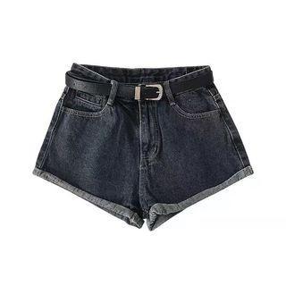 🧚🏻♀️深藍色捲邊顯瘦牛仔褲🧚🏻♀️