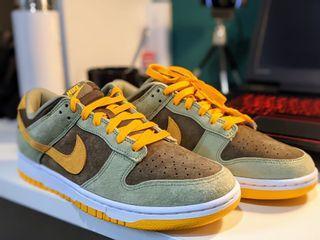 英國🇬🇧 Nike Dunk 咖喱 全新 (有興趣可議)#防疫