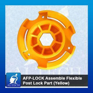 AFP-LOCK Assemble Flexible Post Lock Part (Yellow)