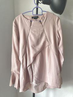 BF Olloum Long Sleeve Top in Pink