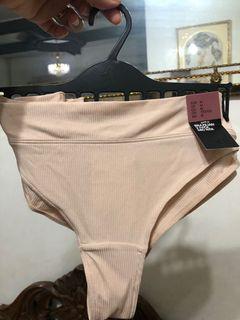 BNWT 2pcs H&M Brazilian Mid Rise Skintone/Peach-y/Nude Undies/Panty/Lingerie medium