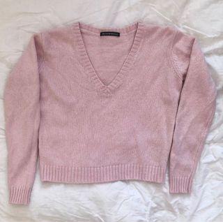 brandy melville pink leigh sweater