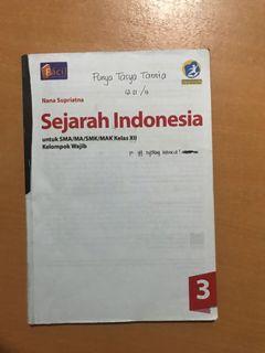 Buku paket sejarah indonesia kelas 12 facil