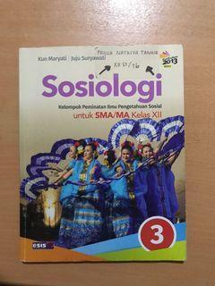 Buku paket sosiologi esis kelas 12