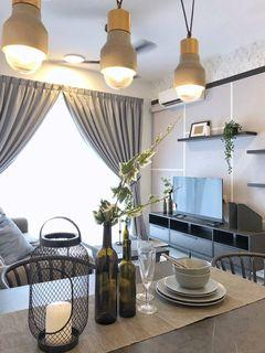 Central Park @ Tampoi ~ 1+2 Bedrooms Fully Furnished