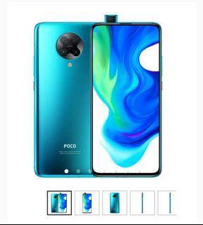 Cicilan Promo Bunga 1,88% Free Admin Xiaomi Poco F2 Pro 6/128GB - Neon Blue