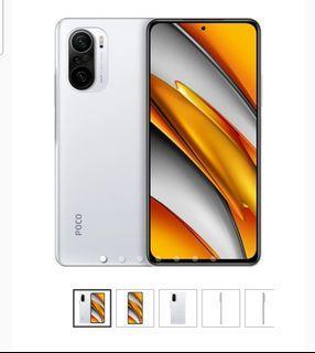 Cicilan Promo Bunga 1,88% Free Admin Xiaomi Poco F3 6/128GB - Arctic White