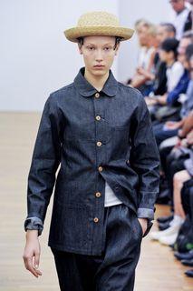 Comme des Garçons Spring 2012 Bleu de Paname Coat