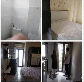 Dijual Apartemen studio lantai 23 kebagusan city lb 26mtr jaksel