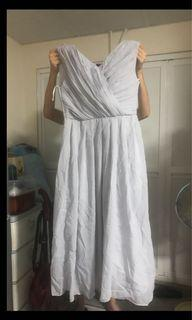 全新灰色姊妹裙Dress