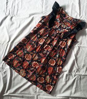 Dress batik babydoll