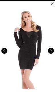 Guess xs shimmer dress