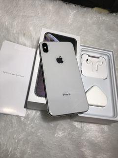 iPhone XS Max 64GB Bekas Mulus Murah Silver