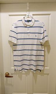 (美國輕奢華牌)J-Crew 藍白橫條polo衫#防疫