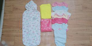 Jumper baby + bedong take all