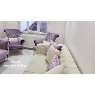 Kursi sofa Tamu Chester