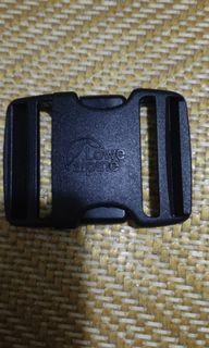Lowe alpine la woo jin flex 義大利戶外大牌黑色塑鋼專利防斷腰帶扣背帶扣兩側可調